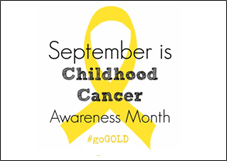 Childhood Cancer Awareness in Bolton